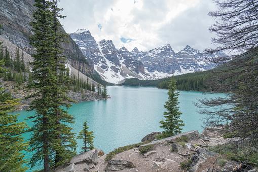 World Heritage「モレーン湖、バンフ国立公園、カナダ」:スマホ壁紙(9)