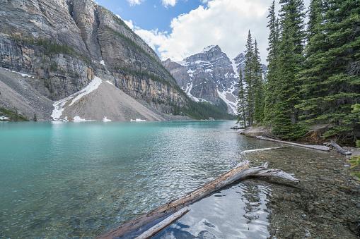 cloud「モレーン湖、バンフ国立公園、カナダ」:スマホ壁紙(11)