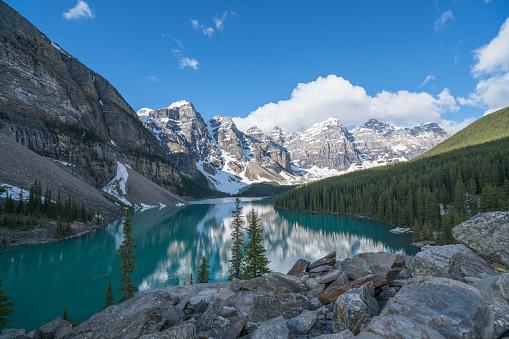 World Heritage「モレーン湖、バンフ国立公園、カナダ」:スマホ壁紙(3)