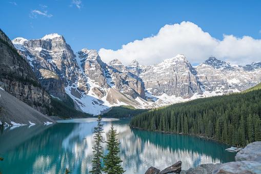 World Heritage「モレーン湖、バンフ国立公園、カナダ」:スマホ壁紙(11)