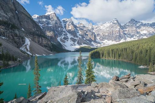 World Heritage「モレーン湖、バンフ国立公園、カナダ」:スマホ壁紙(0)