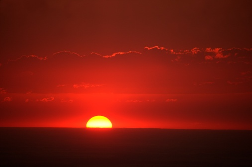 Fireball「Red sky at night」:スマホ壁紙(13)