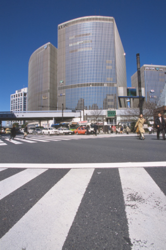 東京都中央区「Building」:スマホ壁紙(6)