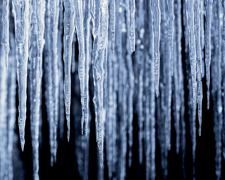 氷柱「Sweden, Lapland, Arctic Icicles」:スマホ壁紙(4)