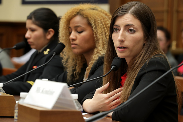 USA「House Armed Services Committee Holds Hearing On Annual Sexual Harassment Report At Military Academies」:写真・画像(1)[壁紙.com]