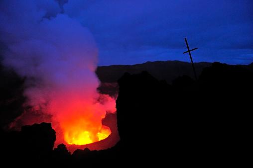 Geologist「Mount Nyiragongo, Volcano in DR Congo」:スマホ壁紙(8)