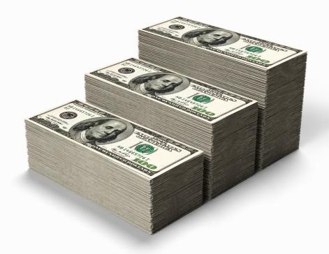 American One Hundred Dollar Bill「Stacks of hundred dollar bills」:スマホ壁紙(15)