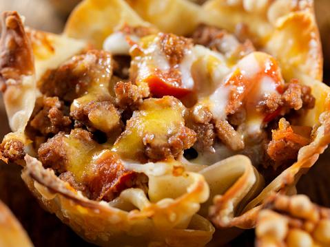 Wonton「Crispy Baked, Wonton Taco Bowls」:スマホ壁紙(18)