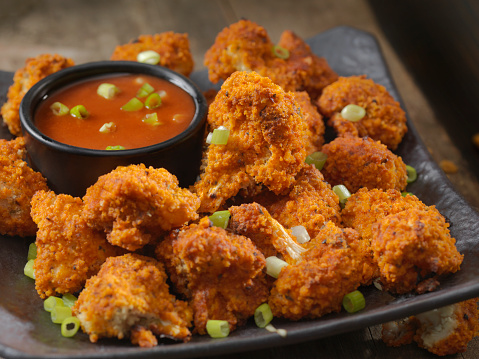 Ranch Dressing「Crispy Baked Buffalo Wing Cauliflower Bites」:スマホ壁紙(15)