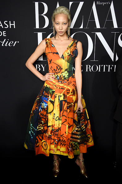 """Flared Dress「Harper's BAZAAR Celebrates """"ICONS By Carine Roitfeld"""" At The Plaza Hotel Presented By Cartier - Arrivals」:写真・画像(7)[壁紙.com]"""
