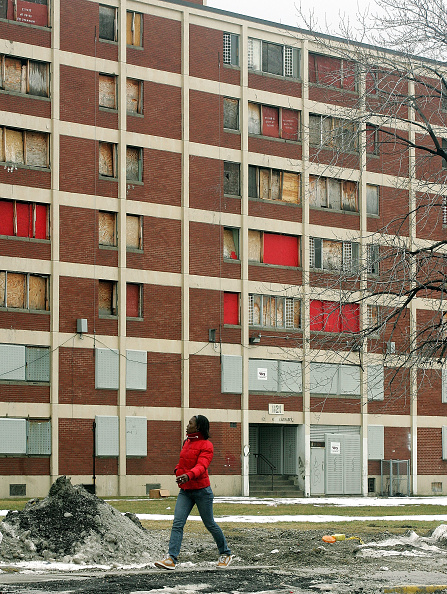 Tim Boyle「End Near For Infamous Chicago Housing Project Cabrini-Green」:写真・画像(6)[壁紙.com]