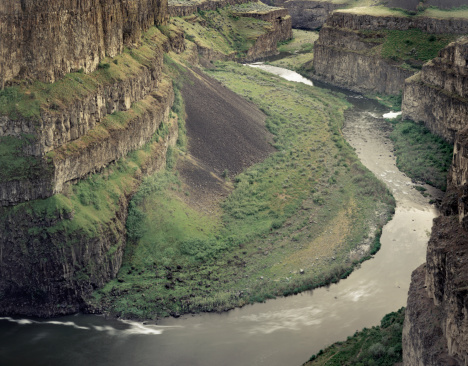 Basalt「Palouse River Canyon Washington」:スマホ壁紙(15)