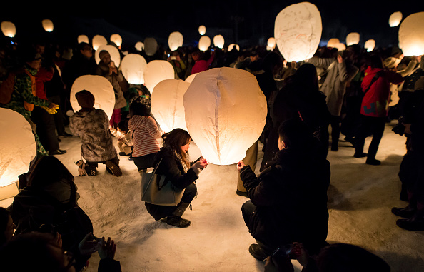 Lantern「Lanterns Mark End Of Snow Season In Tsunan」:写真・画像(13)[壁紙.com]