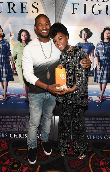 Usher - Singer「'HIDDEN FIGURES' Screening Hosted by Janelle Monae & Pharrell Williams at Regal Atlantic Station」:写真・画像(18)[壁紙.com]