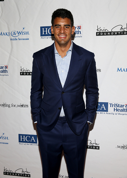 Marcus Mariota「16th Annual Waiting for Wishes Celebrity Dinner Hosted by Kevin Carter & Jay DeMarcus」:写真・画像(13)[壁紙.com]