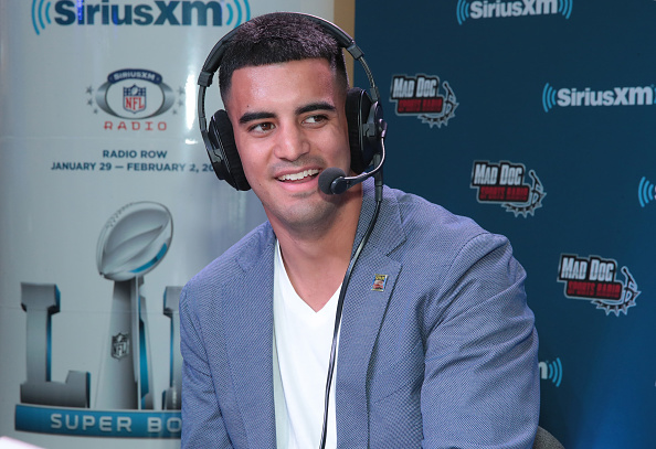 Marcus Mariota「SiriusXM At Super Bowl LII」:写真・画像(4)[壁紙.com]