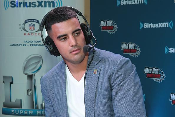 Marcus Mariota「SiriusXM At Super Bowl LII」:写真・画像(19)[壁紙.com]
