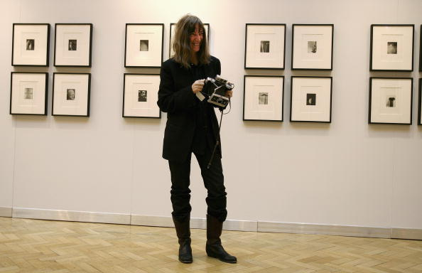 Extreme Close-Up「US Punk Rock Star Patti Smith Shows Exhibition Of Art Work」:写真・画像(10)[壁紙.com]