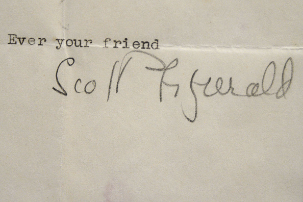F Scott Fitzgerald「Rare Titanic Artifacts From Lifeboat No. 1 & Other Historic Autographs - Auction Sneak Peak」:写真・画像(10)[壁紙.com]