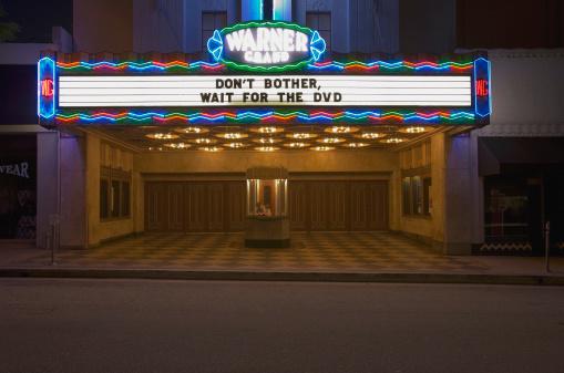USA「Movie Theater Sign」:スマホ壁紙(2)