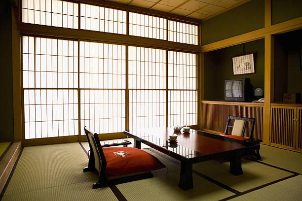 Image of the Room at a Traditional Japanese Inn:スマホ壁紙(壁紙.com)