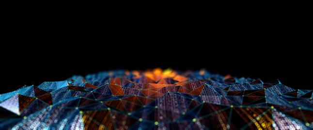 Innovation「Abstract Digital network communication」:スマホ壁紙(8)