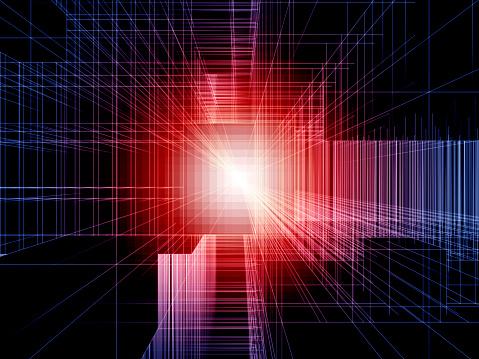Big Data「Abstract digital structures」:スマホ壁紙(0)