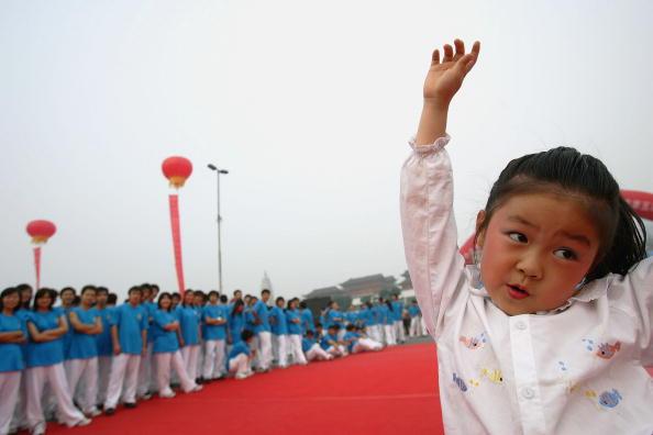 Cancan Chu「Sporting Activities Encouraged In Beijing」:写真・画像(18)[壁紙.com]