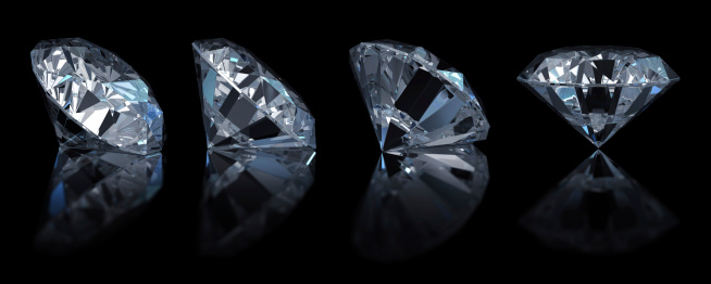 Crystal「Single diamond (4 position)」:スマホ壁紙(1)