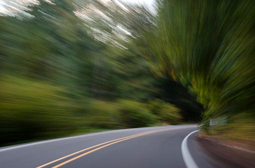 Winding Road「Motion Autumn Road」:スマホ壁紙(11)