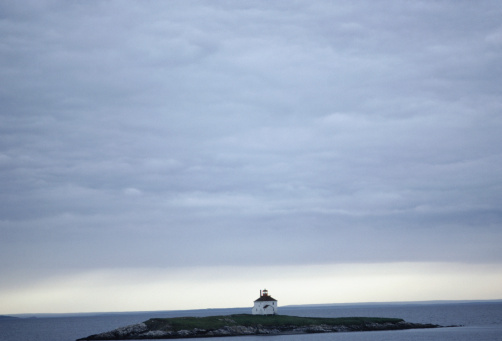 Remote Location「View of small island in Chedabucto Bay, Nova Scotia, Canada」:スマホ壁紙(10)