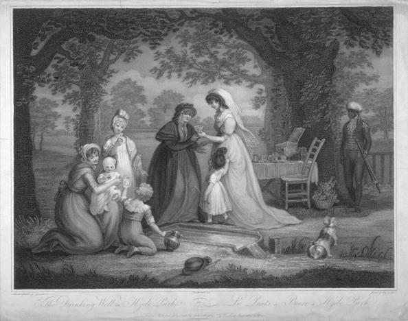 Picnic Table「People in Hyde Park, London, 1802. Artist: James Godby」:写真・画像(11)[壁紙.com]
