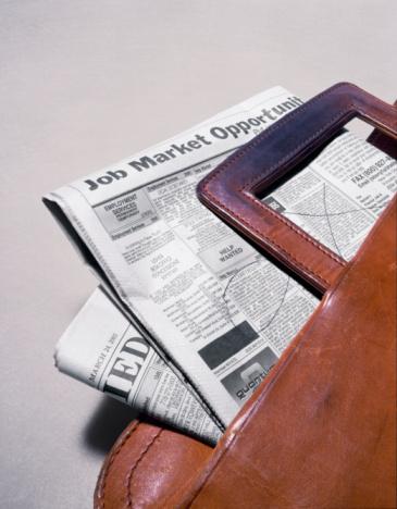 Briefcase「Newspaper employment classified ads in briefcase」:スマホ壁紙(8)