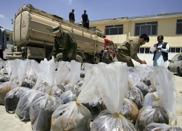 Kabul「Counter Narcotics Police Sieze Over 1,650 Pounds Of Opium」:写真・画像(8)[壁紙.com]