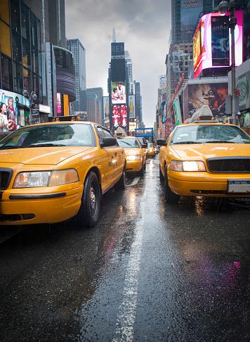 交通量「Traffic jam at times square, New York, America, USA」:スマホ壁紙(15)