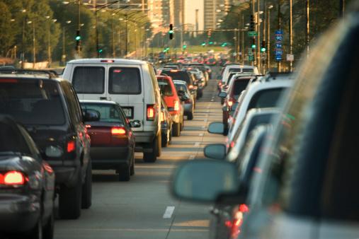 Traffic「Traffic jam in downtown Chicago」:スマホ壁紙(18)