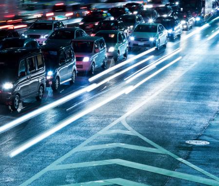 Unrecognizable Person「Traffic Jam」:スマホ壁紙(7)