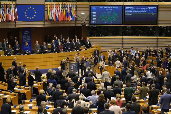 Parliament Building「EU Parliament Approves Brexit Deal In Historic Session」:写真・画像(6)[壁紙.com]