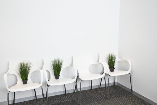 Responsible Business「Plants placed on modern office chairs」:スマホ壁紙(13)