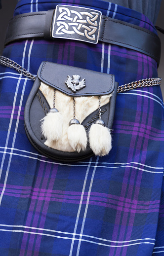 Tartan check「Scottish tartan kilt and sporran, Edinburgh」:スマホ壁紙(17)