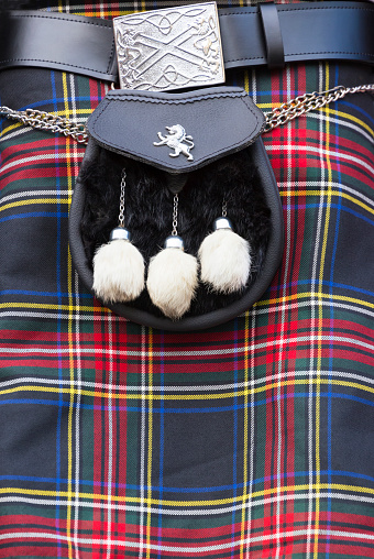 Tartan check「Scottish tartan kilt and aporran, Edinburgh」:スマホ壁紙(9)