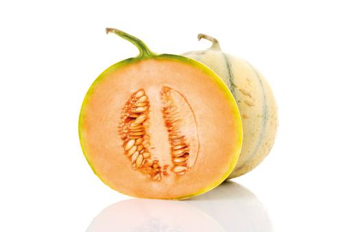 メロン「'Cavaillon melons, close-up'」:スマホ壁紙(3)