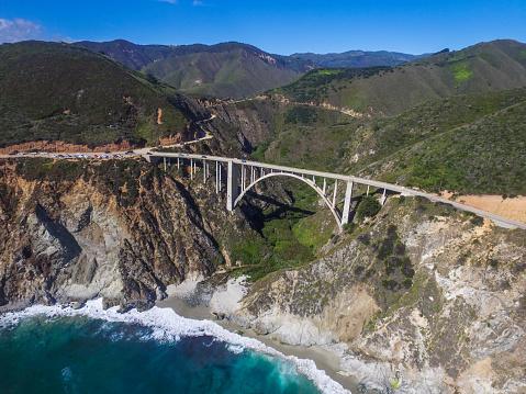 Bixby Creek Bridge「The famed Bixy Bridge in Big Sur.」:スマホ壁紙(4)