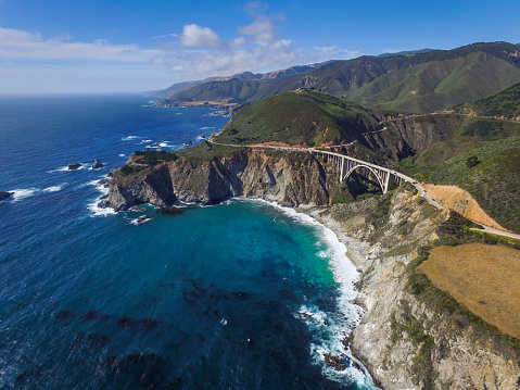 Big Sur「The famed Bixy Bridge in Big Sur.」:スマホ壁紙(2)