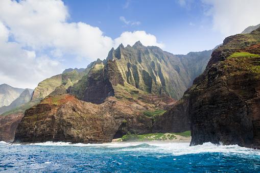 Kalalau Valley「Scenic Landscape of Na Pali Coast of Kauai, Hawaii」:スマホ壁紙(15)