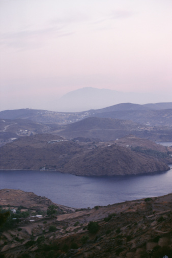 パトモス島「Scenic landscape in Patmos, Greece」:スマホ壁紙(7)