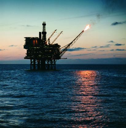 Oil Industry「Off-shore oil rig」:スマホ壁紙(1)