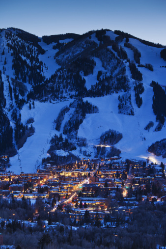 Mt Aspen「Aspen Mountain, winter」:スマホ壁紙(1)