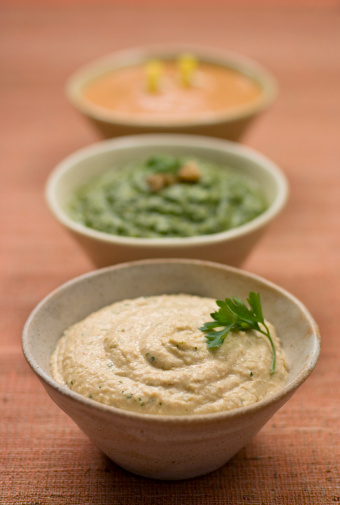 Table Runner「Hummus」:スマホ壁紙(9)