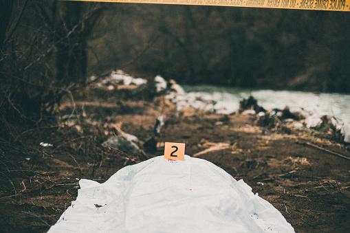 大昔の「Corpse on the ground」:スマホ壁紙(1)
